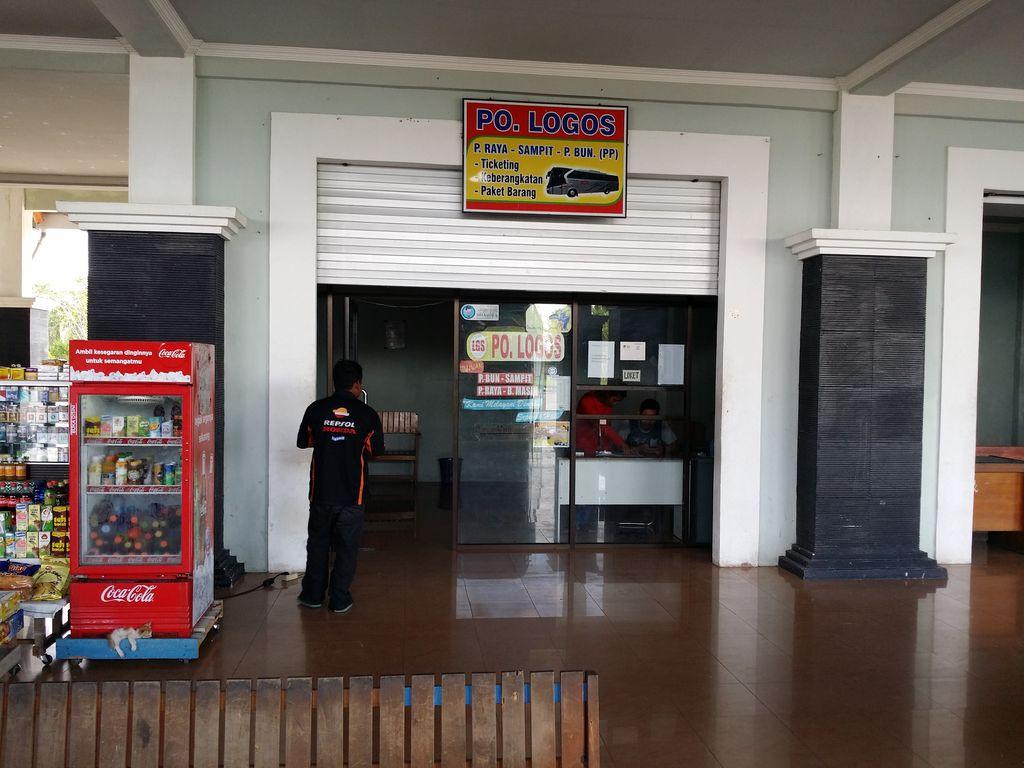 Terminal de bus de Palangka Raya