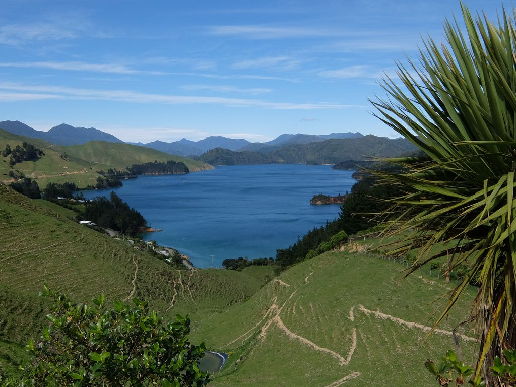 Crête des Marlborough Sounds