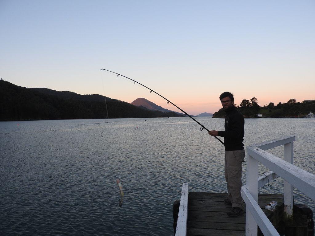 Partie de pêche réussie