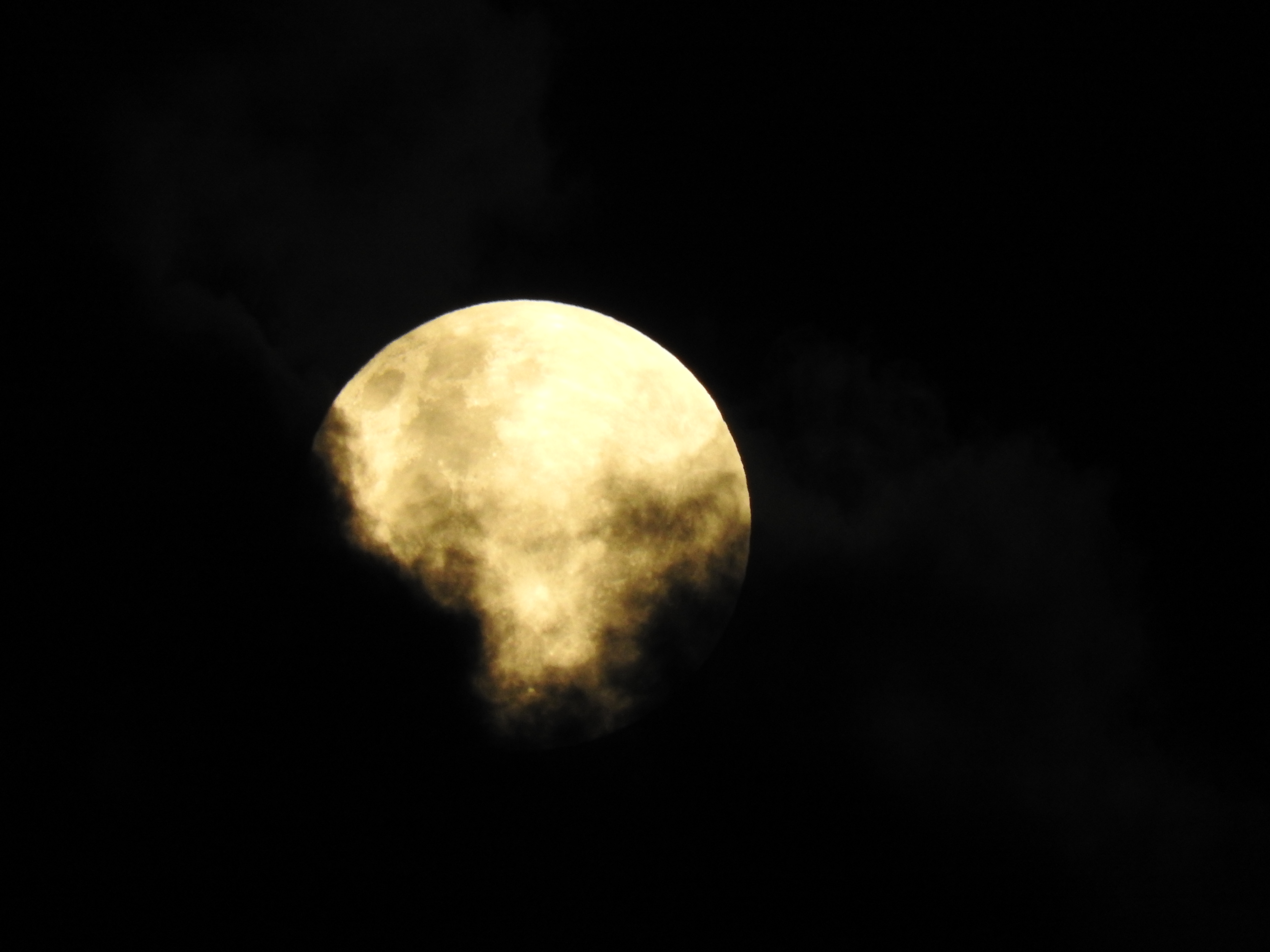 C'est la plein lune