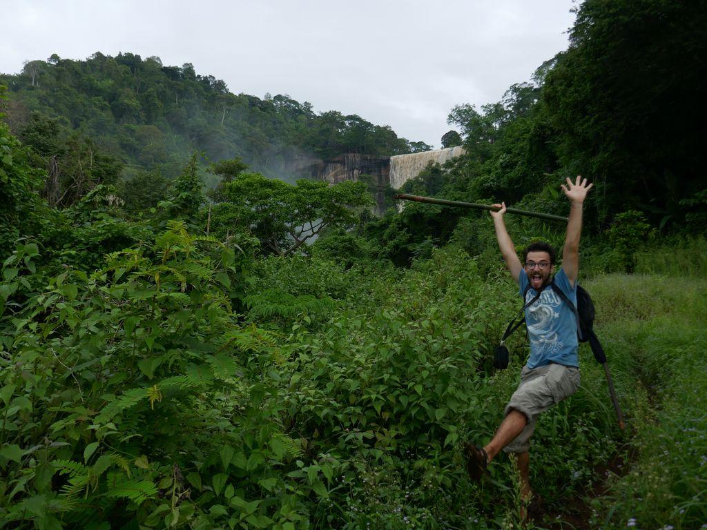 De retour après la cascade Tad Soung