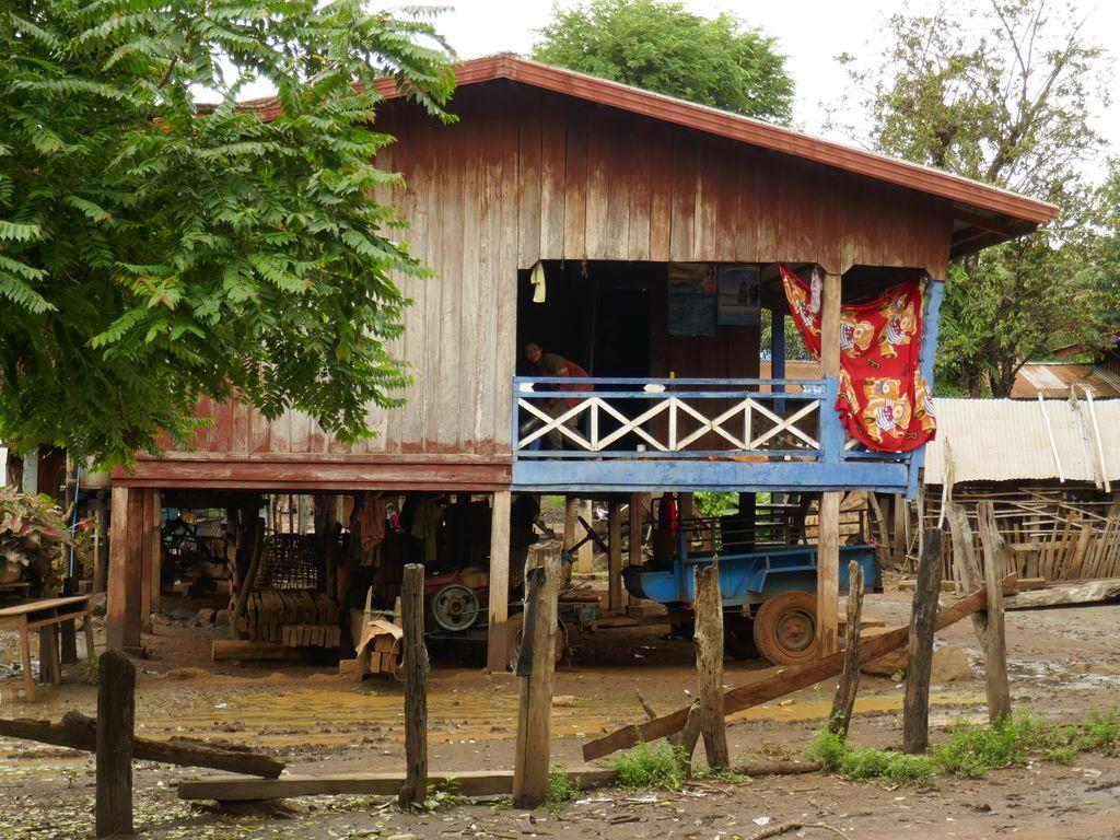 Dans le village de Khiang Tanglae