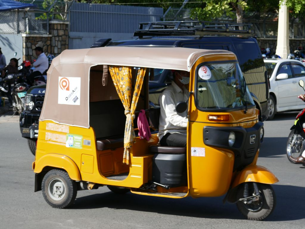 Tuk-tuk traditionnel